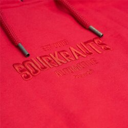 Sourkrauts Hoody one colour rot