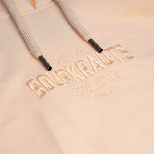 Sourkrauts Hoody one colour beige