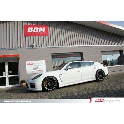BBM Porsche Panamera 2. Generation 971  Airmatic Tieferlegung Luftfahrwerk ASS Koppelstangen