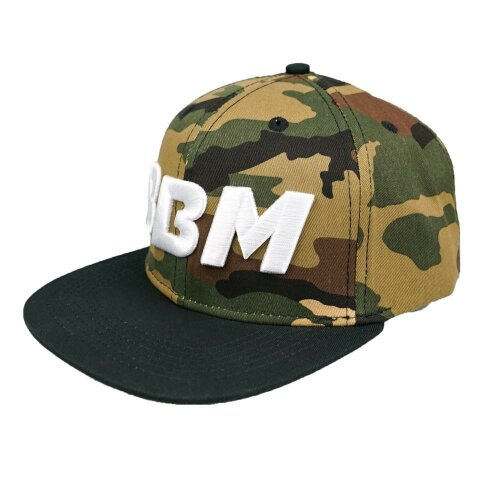 BBM Snapback Cap Camouflage Made by Sourkrauts