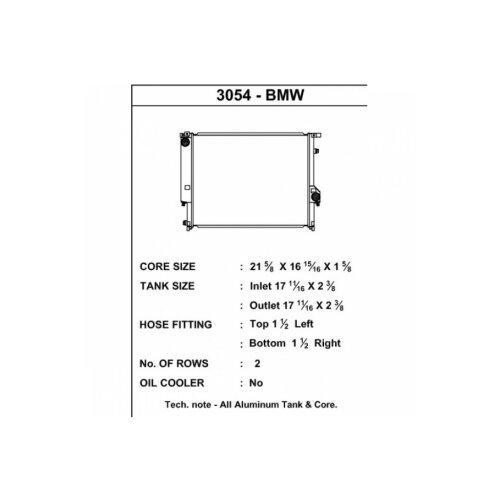 CSF Wasserkühler für BMW E36 M3
