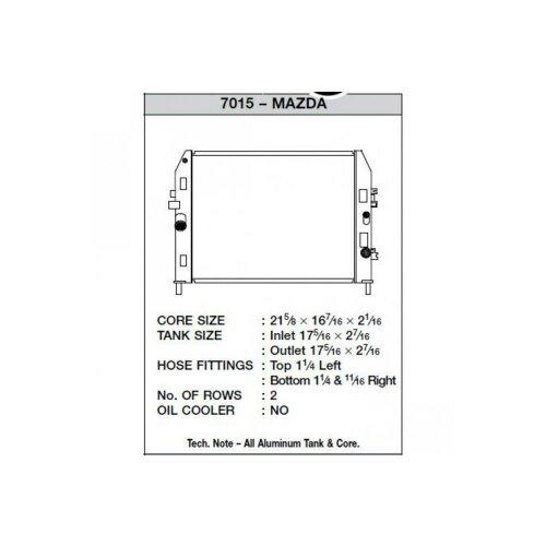 CSF Wasserkühler für Mazda MX-5 / Miata (NC) 2006 - 2014