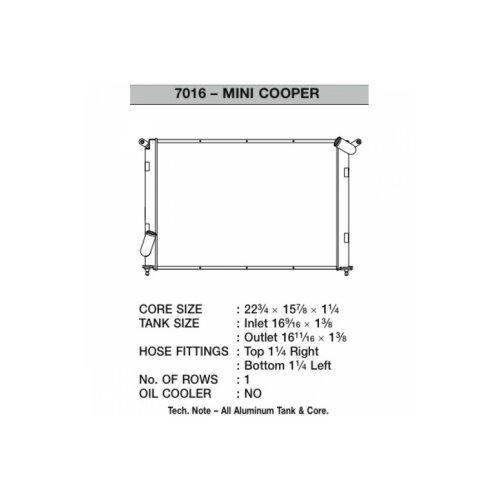 CSF Wasserkühler für Mini Cooper S 2002-2007