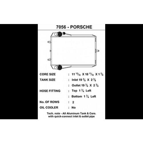 CSF Wasserkühler für Porsche 911 Turbo (996 | 997), GT2 (996 & 997),GT3 (996) links