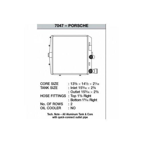 CSF Wasserkühler für Porsche Boxster (987) | Cayman | 911er (997) | GT3 links