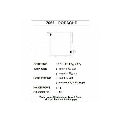 CSF Wasserkühler links für Porsche 911 Carrera (991.1)| Boxster (981)| GT4 | Cayman