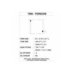 CSF Wasserkühler links für Porsche 911 Carrera...