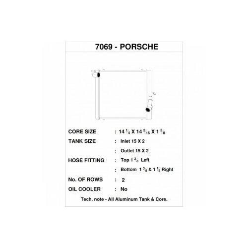 CSF Wasserkühler links für Porsche 991.2 Carrera, 991 911 Turbo | GT3/RS | CUP