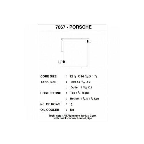 CSF Wasserkühler rechts für Porsche 911 Carrera (991.1)| Boxster (981)| GT4 | Cayman