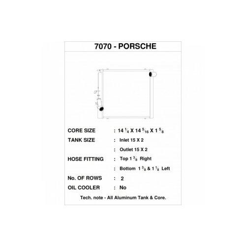 CSF Wasserkühler rechts für Porsche 991.2 Carrera, 991 911 Turbo | GT3/RS | CUP