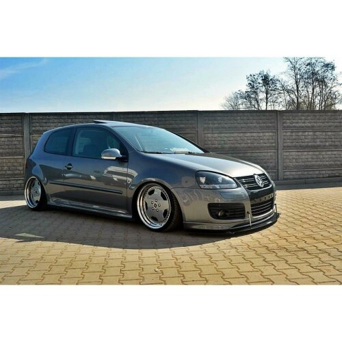 Maxton Design Racing Cup Spoilerlippe Front Ansatz VW GOLF 5 GTI 30TH