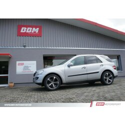 BBM Mercedes Benz ML Klasse W166 Airmatic Tieferlegung