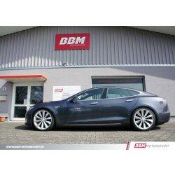 BBM Tesla Model S & 3 Airmatic Tieferlegung Luftfahrwerk ASS Koppelstangen