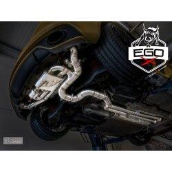 HG Motorsport EGO-X 3,5 Zoll Abgasanlage ab Kat für Audi TTRS 8J