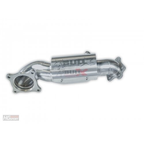 HG-Motorsport 3,5 / 89mm Downpipe für den Honda Civic Type R FK2