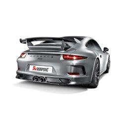 Akrapovic Auspuff Slip-On Titan Porsche 991 (911) GT3 14-17