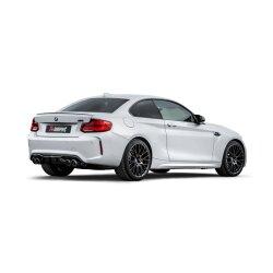 Akrapovic Auspuff Slip-On Titan BMW M2 Competition (F87N) - OPF/GPF