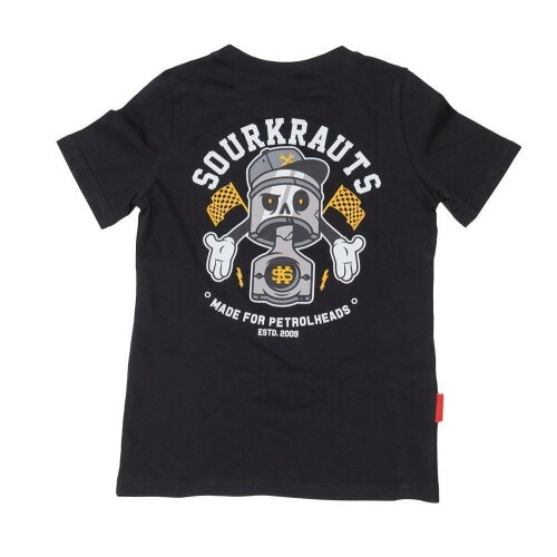 Sourkrauts Kids Shirt Arthy schwarz