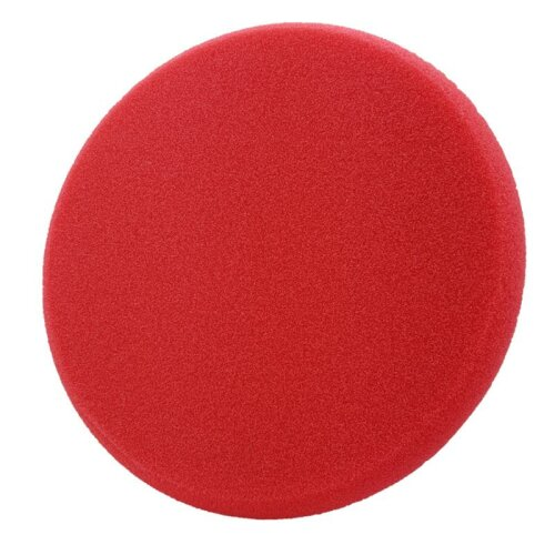 Liquid Elements Pad Man Standard - Polierschwamm Rot (medium) 150mm