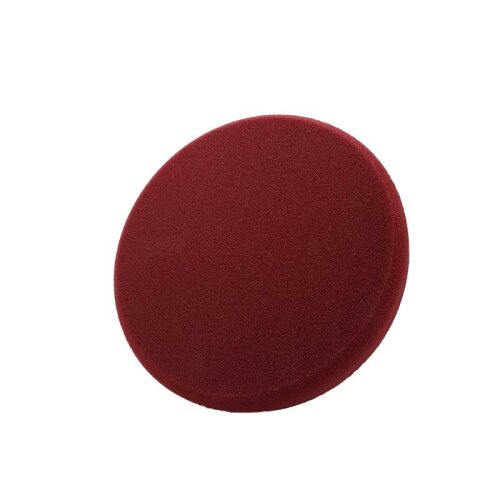 Liquid Elements Pad Man Schleif - Polierschwamm Burgundy (grob) 75mm
