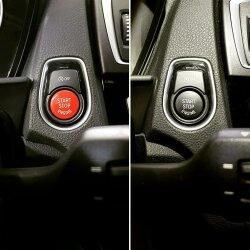 BMW Start/Stop-Knopf Rot