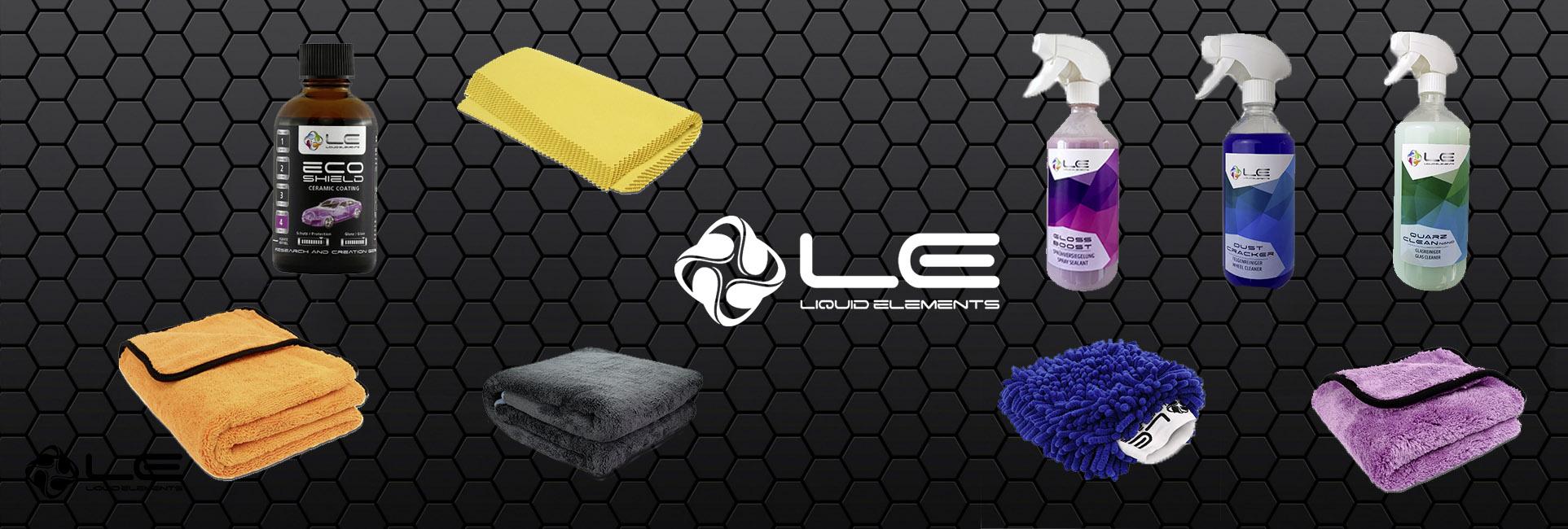 Liquid Elements , Passende Fahrzeugpflege für dein Auto!